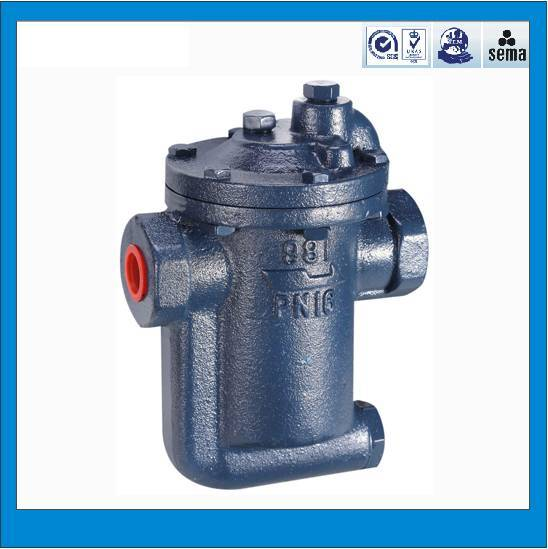 High quality cast iron inverted bucket steam trap