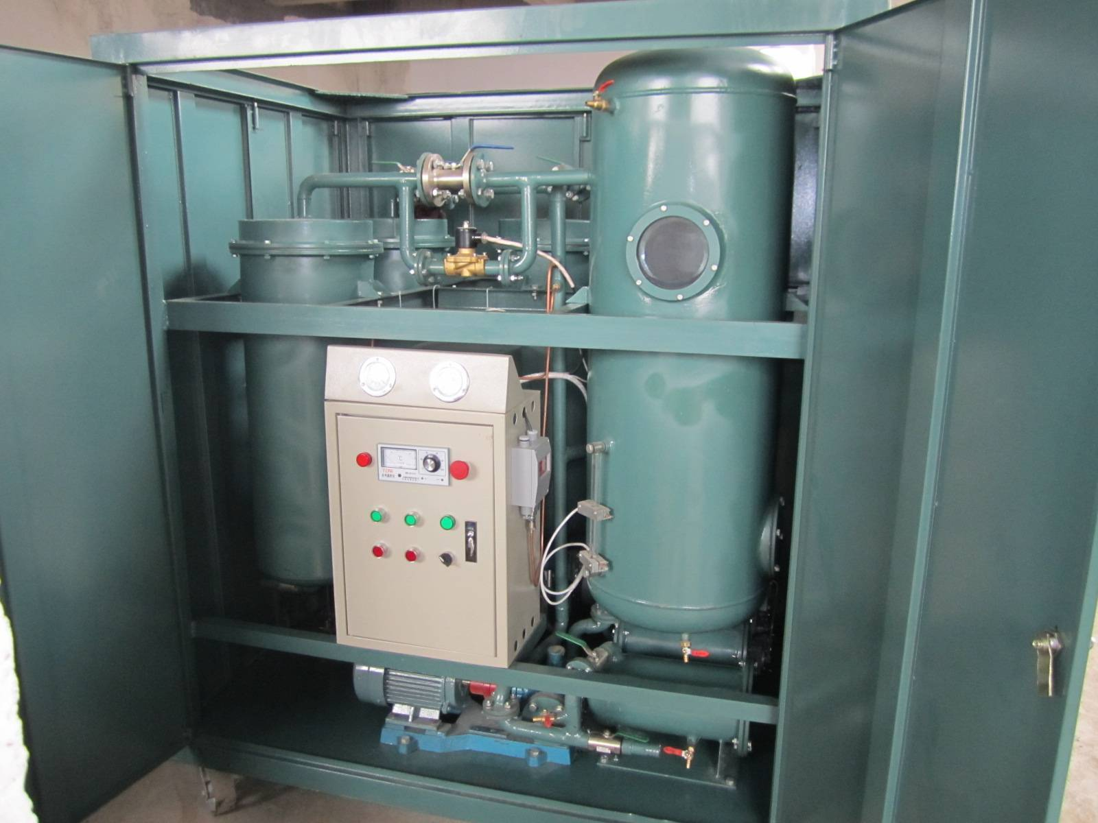 online-running turbine oil purification / Turbine oil filtration system