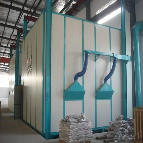 Manufacturer Blasting Room Machinery Air Shot Blasting Chamber