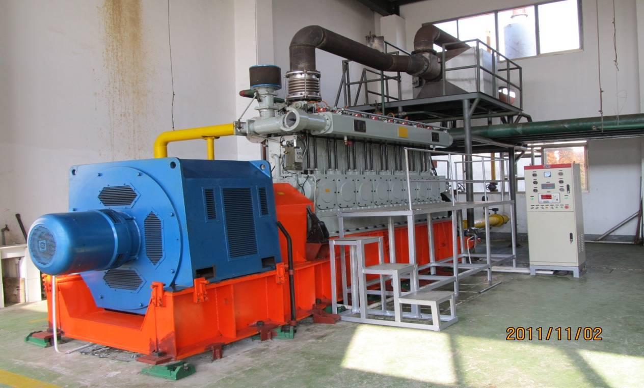 NIGM 500kw Biomass Gas Generator for power plant