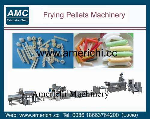 Frying pellet machines