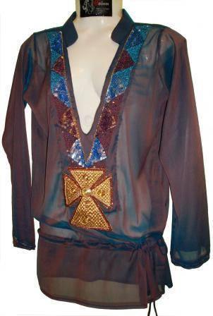 Hand embellished tunic