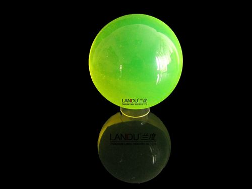 High quality transparent green color acrylic round balls