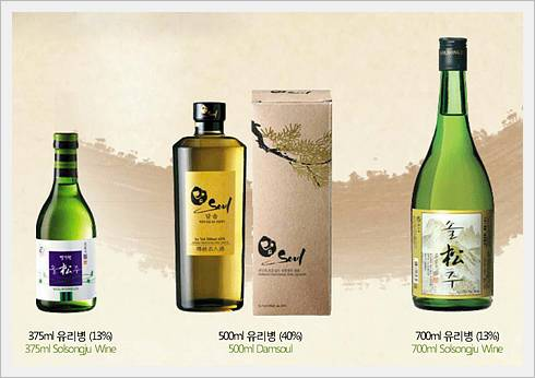 Korean TraditKorean Traditional Rice Wine - SOLSONGJU-ional Rice Wine - SOLSONGJU-