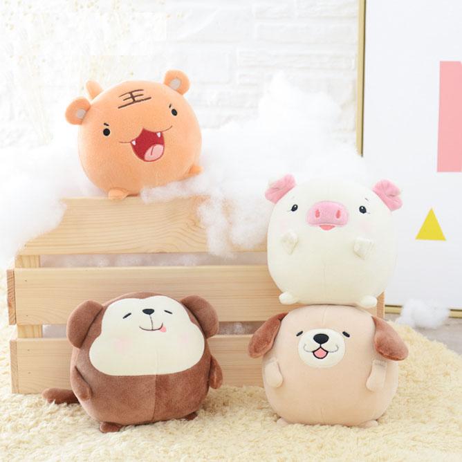 Stuffed animals cartoon dolls animal pillow soft toys DS-TG005