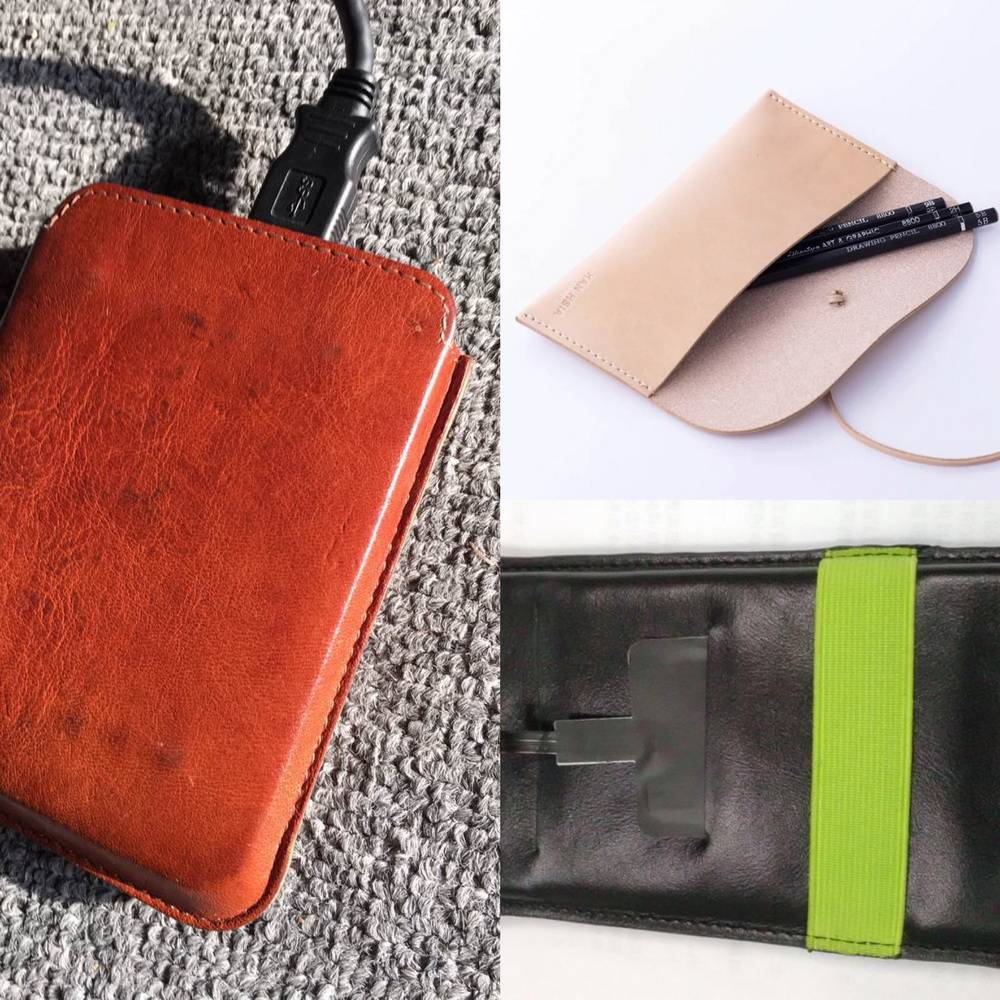 Fashion and function leather phone purse