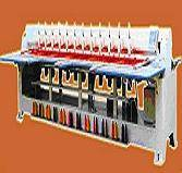 multi-color chain stitch embroidery machine