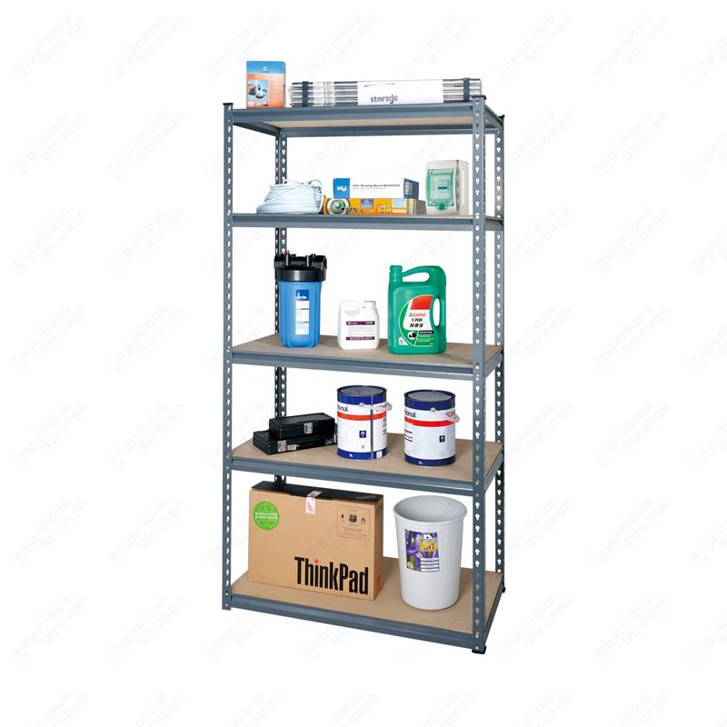 Small 5 Garage Shelf Storage Racks Unit