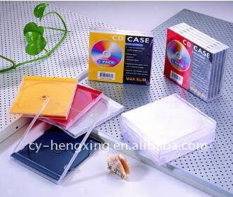 PS Shrink Film Artwork Packing Colorful Personalized CD Case