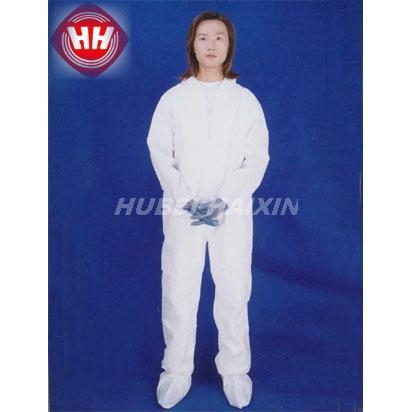 Disposable Nonwoven Coverall With Collar