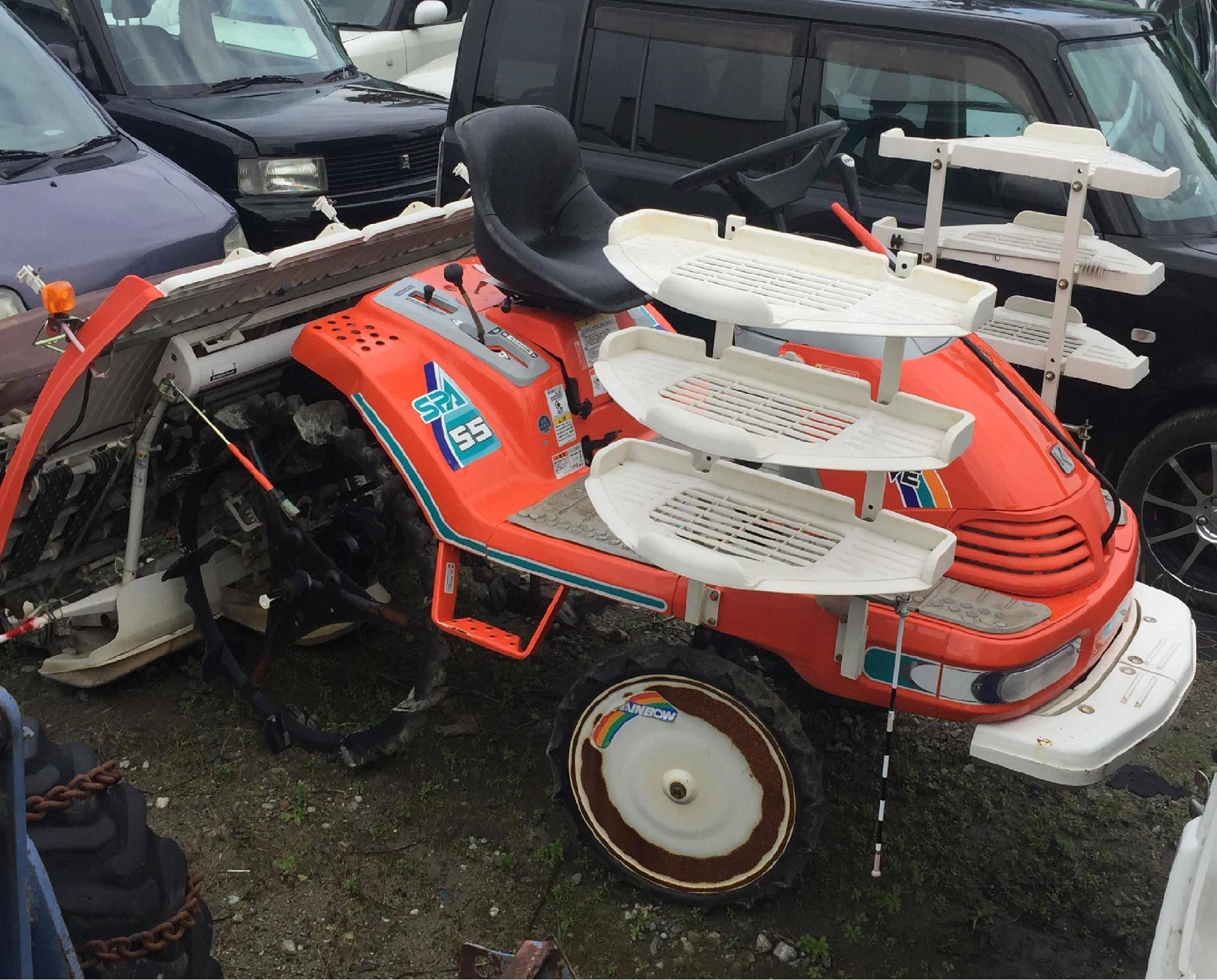 Used seeder Kubota SPA 55