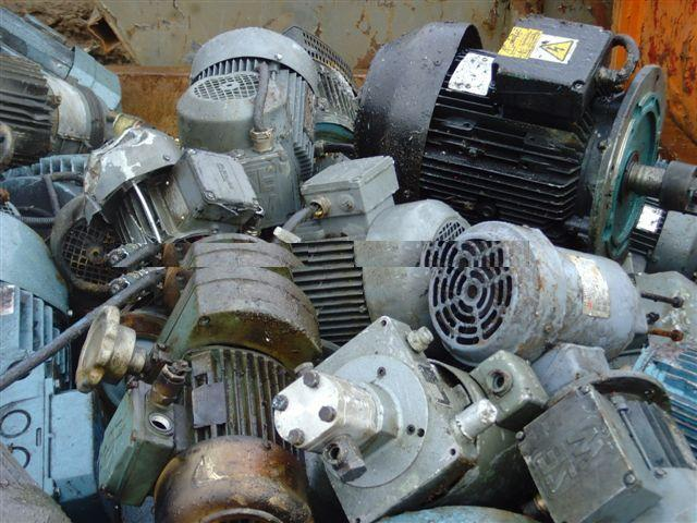 Electric Motor and Alternator Scraps available for sale