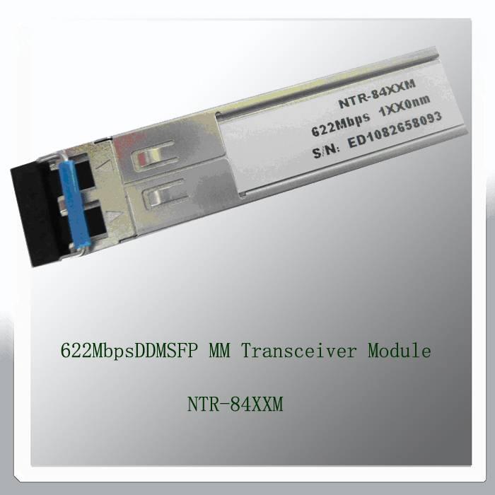 622Mbps DDM SFP MM Transceiver Module