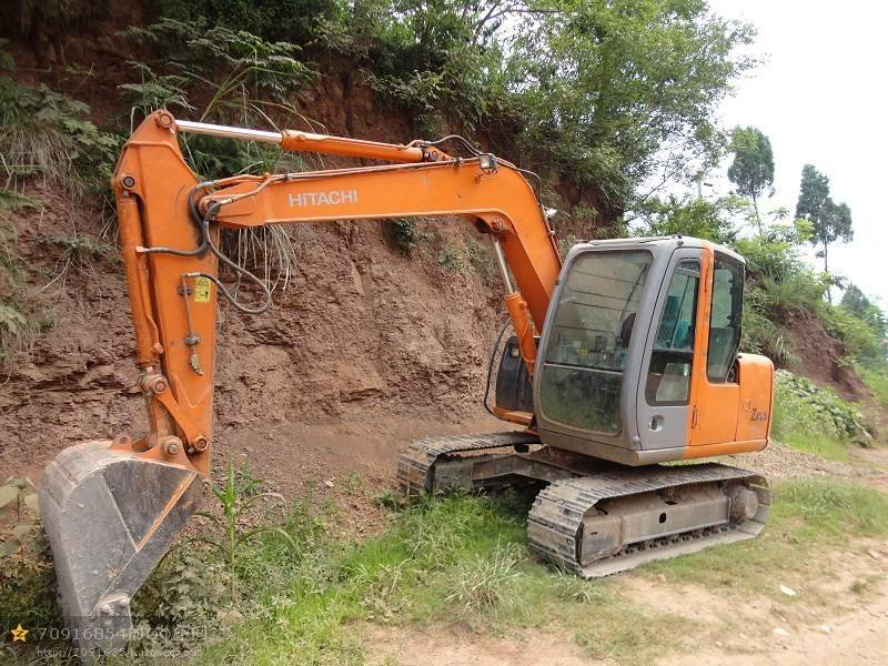Used excavator hitachi zx70