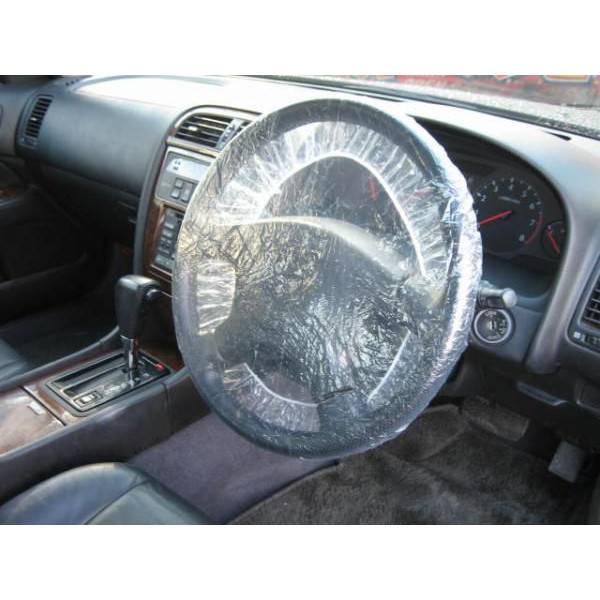 automobile interior accessories disposable plastic steering wheel cover maintenance products
