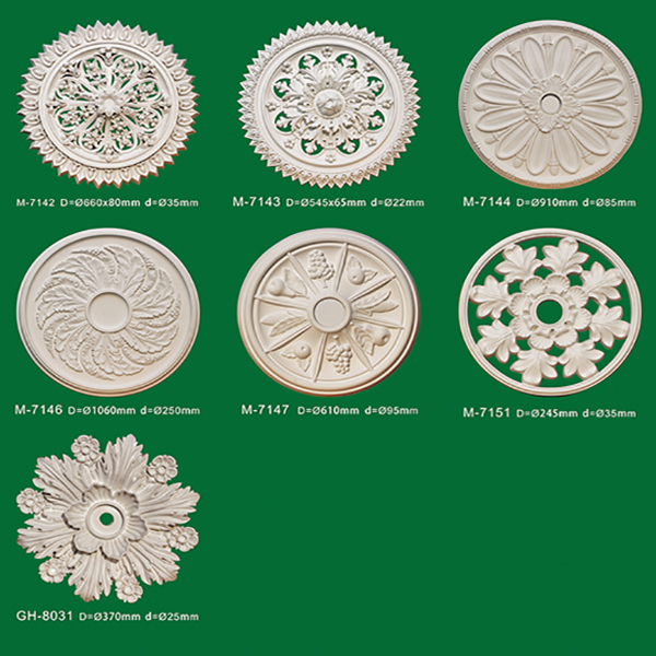 Polyurethane Ceiling Centre Decoration lowes ceiling medallion