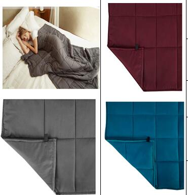 weighted blanket in microfibre