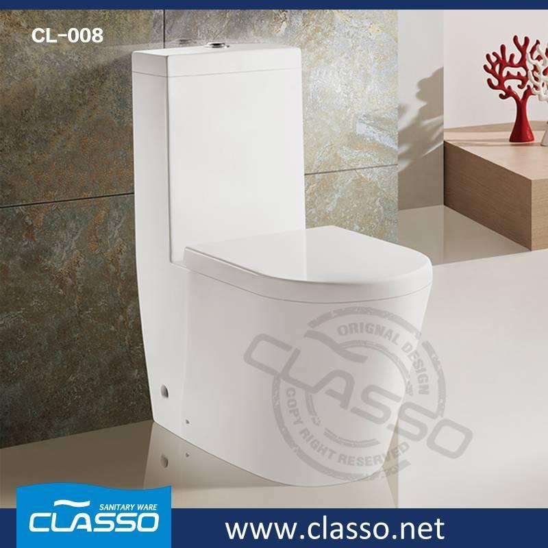 Hot sale washdown toilet new design 4-inch one piece closet CL-008