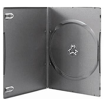 7mm dvd case with black color single or double