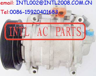 DENSO 10SR15C auto ac a/c compressor for Honda Accord L4 2.4L 7PK PV7 pulley 2008 2009 2010 2011