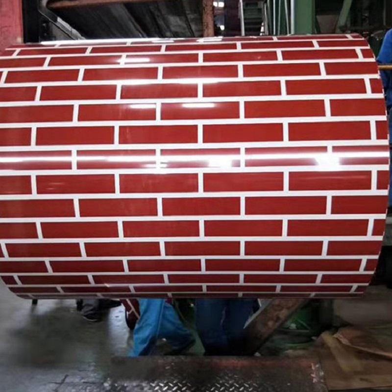 Matt Wrinkle PPGI Coloured Prepainted Gi Steel Coil