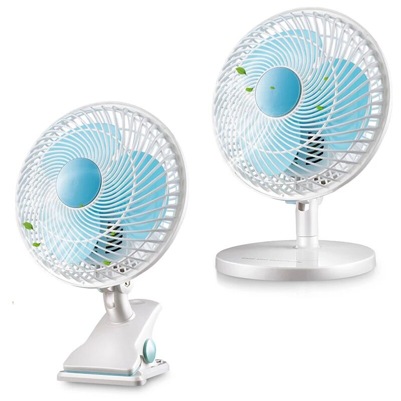 Electric fan USB mini student dormitory bed small fan small office bedroom bedside table clamping fa