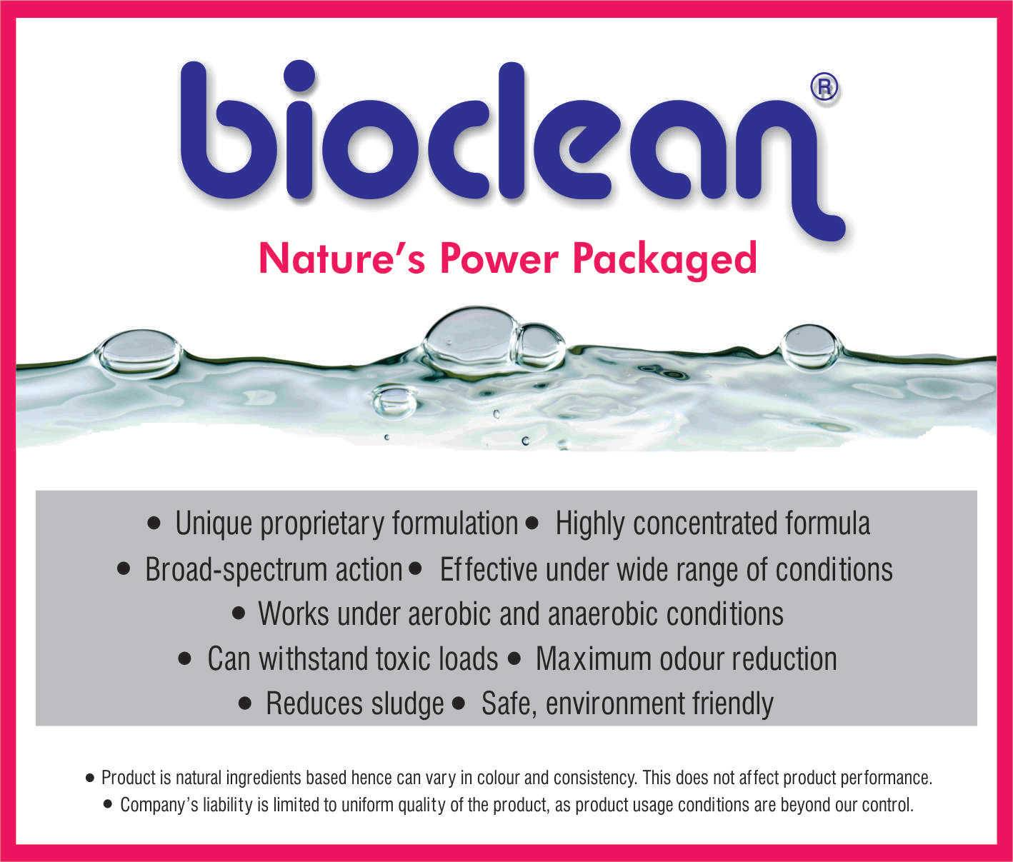 Bioculture for Waste Water Treatment