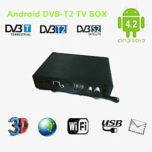 black android4.2 DVB-T2 tv box