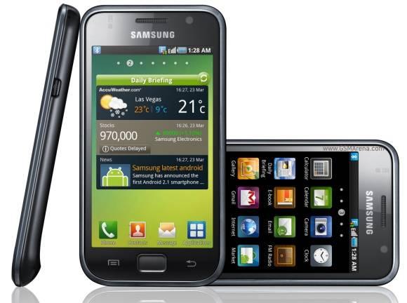 Original unlocked Android mobile phones Samsung I9000 Galaxy S