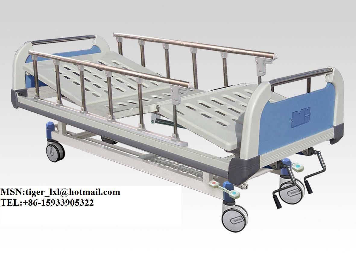 Movable Double Shakes Hospital Bed A-17