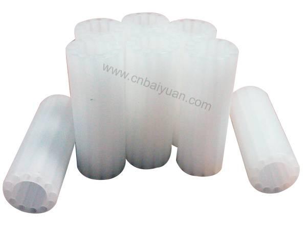 white plastic core /tube