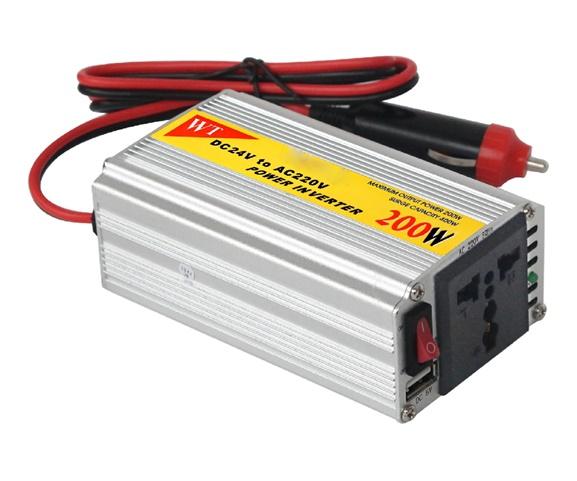 200W Car Power Inverter Modified sine wave DC AC