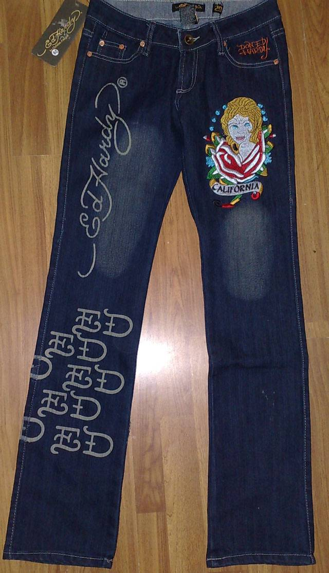 Sell Women's Ed-hardy Denim Jeans