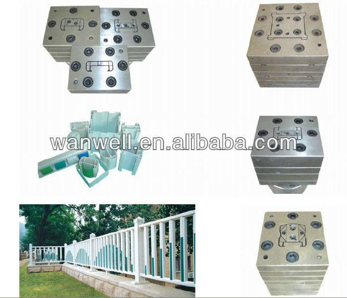PVC extrusion moulding for fence