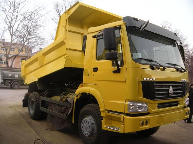 DUMP TRUCK SINOTRUK SWZ 4x2 371HP EURO II Energy-Saving