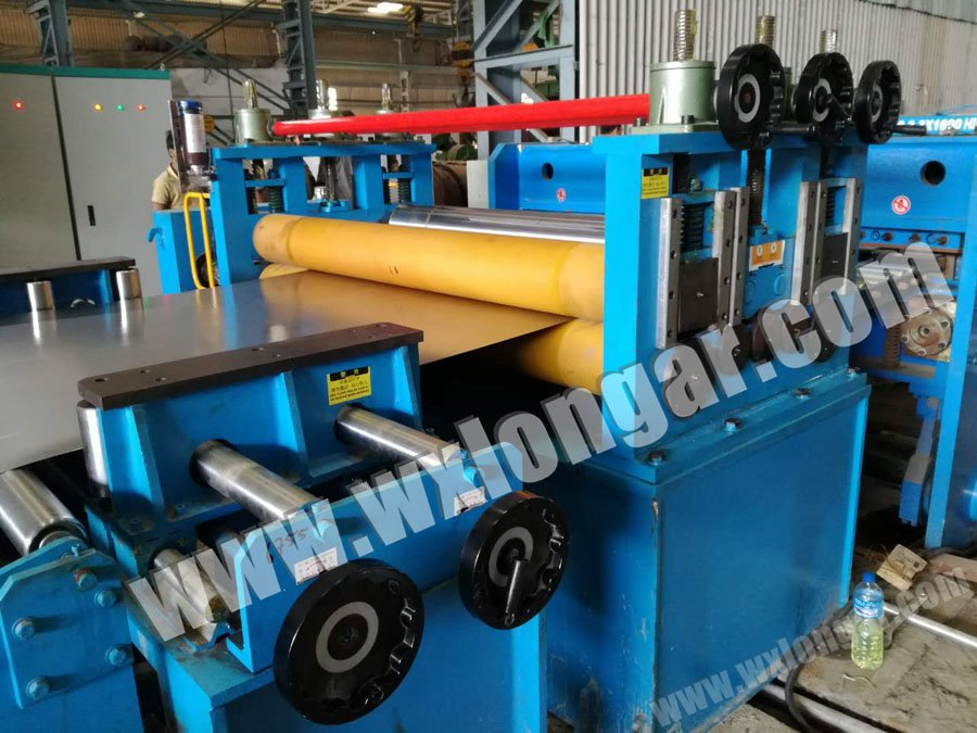 3X1600mm High Speed Series Stainless Steel Slitting Mill