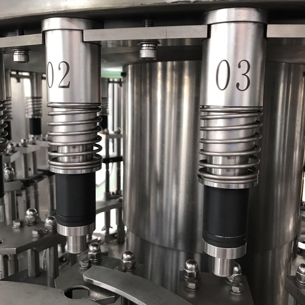 pure water washing / filling / sealing machine