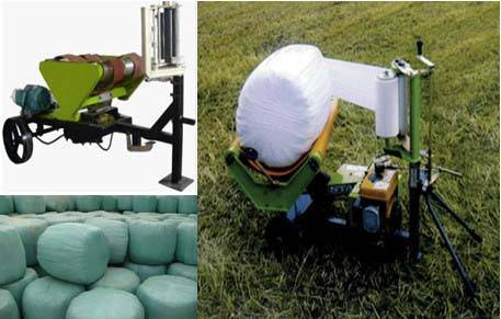 Round bundle coating machine 0086-15890067264