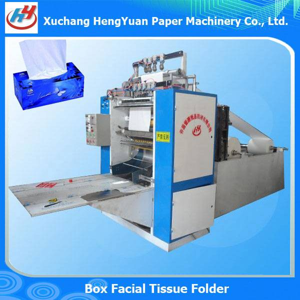 Box Packed Facial Tissue Folding Machine