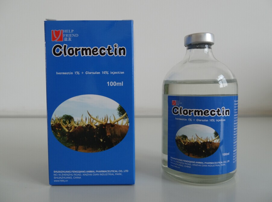 Ivermectin 1% & Clorsulon 10% injectable Solution