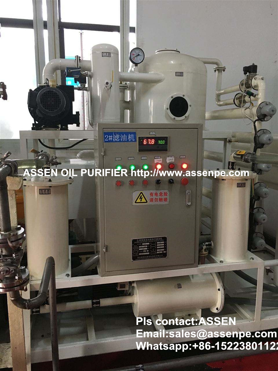 Online dehydration transformer oil purifier plant,insulation oil purification process plant