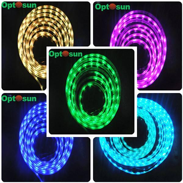 12v RGB SMD5050 Waterproof LED strip holiday lighting