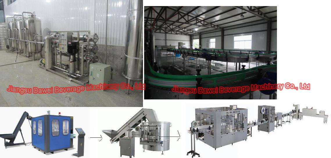 water filling machine line ( turnkey project)