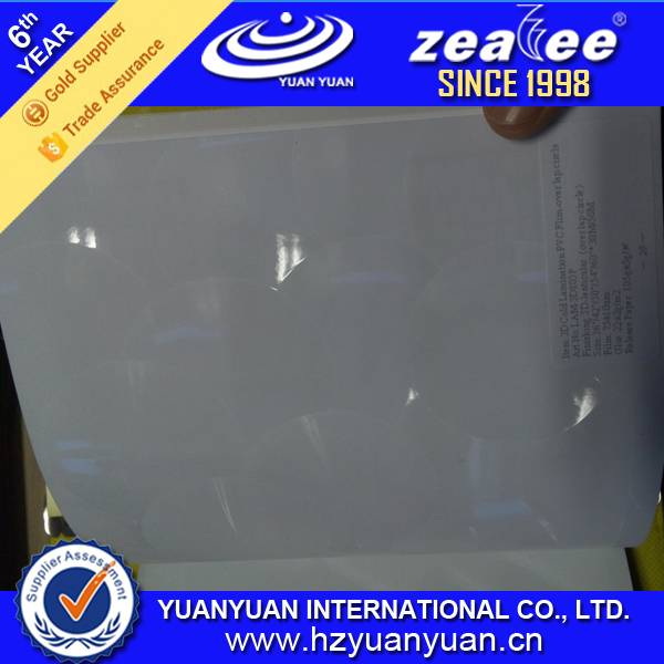 3D Cold Lamination PVC Film-Over Lap Circle