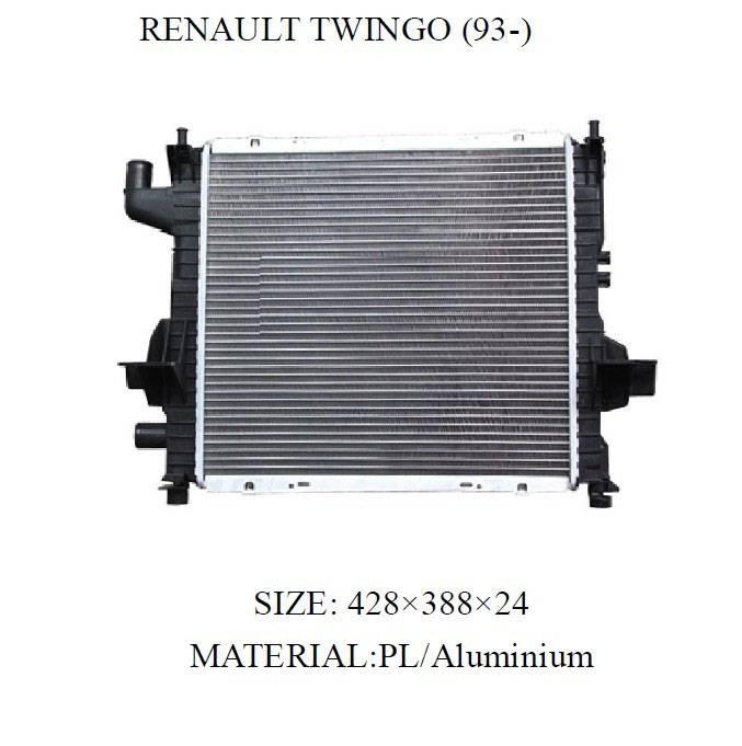 Renault radiator OEM NO. 7701042415 Nissens 63837A