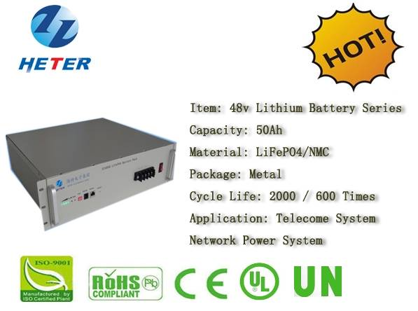 48v50Ah EV/Bike/Scooter/Moped Battery; LiFePO4/NMC Battery Series; Storage battery; Telcome;