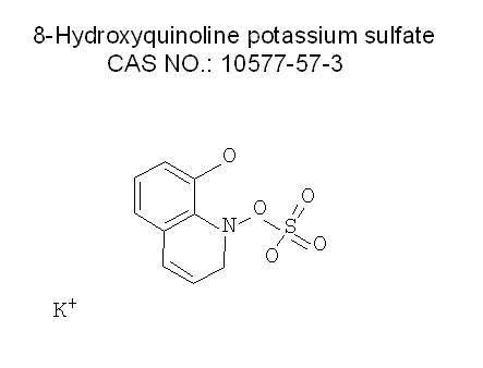 8-Hydroxyquinoline potassium sulfate CAS NO.: 10577-57-3