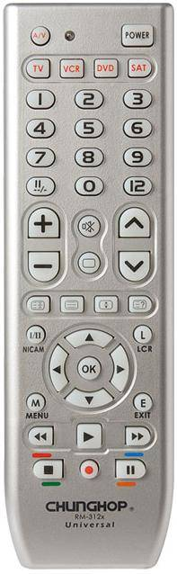 4 in 1 Universal remote control (RM-312)