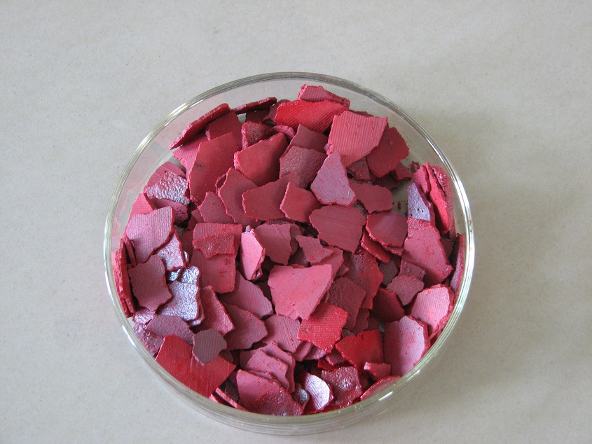 Chromic Acid dark red flakes 99.8%Min from China with top quality