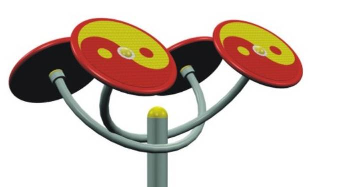 plastic fitness equipment